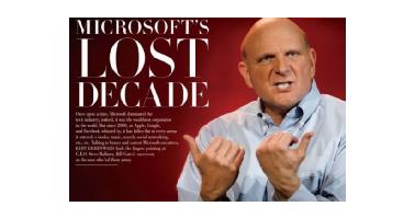 Microsoft's lost decade