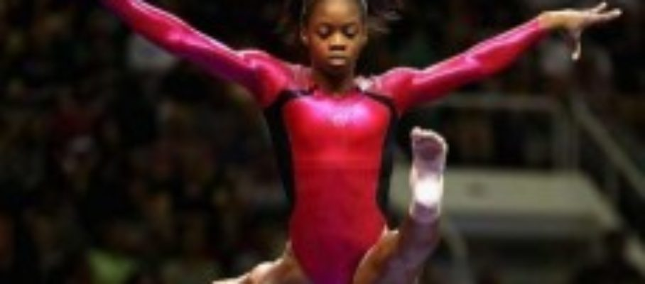 Gabby Douglas - Constancy of purpose