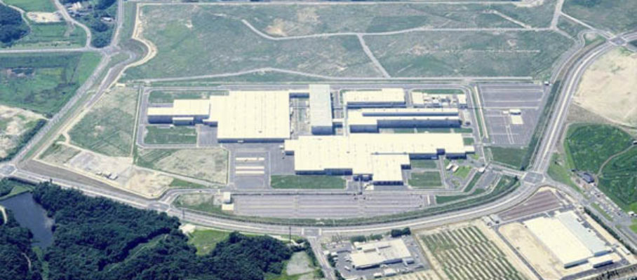 Toyota plant in Ohira Miyagi