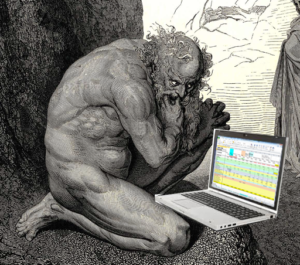 Excel Hell, from Gustave Doré print