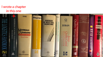 The 11 handbooks on my shelves